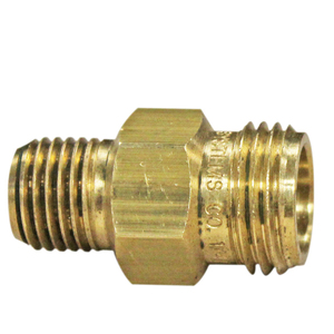 SSC, CP1322 Male 1/4 Adapter Body Brass